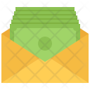 Salary Envelope Note Icon