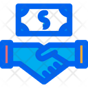 Salary Payment Business Contract Icon