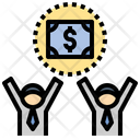 Salary Commission Employee Icon