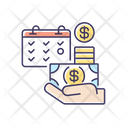 Salary Wages Payment Icon
