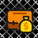 Salary Job Work Icon