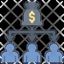 Salary Allocation Icon