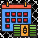 Salary Date Finance Financial Icon