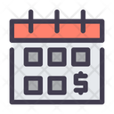 Salary Date Salary Calendar Icon