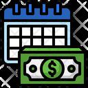 Salary Date Salary Paycheck Icon