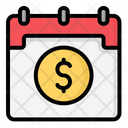 Salary Day Date Calender Icon