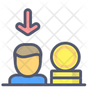 Coin Download Coin Investor Icon