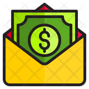 Salary Envelope Money Envelope Cash Envelope Icon