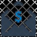 Salary mail Icon