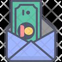 Dollar Mail Mail Dollar Icon