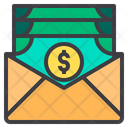 Salary mail Icon