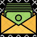 Salary Mail Envelope Icon