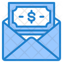 Salary Mail Mail Cash Icon