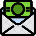 Mail Out Investment Coin Icon