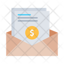 Salary Mail Finance Mail Cash Icon