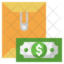 Salary Mail Finance Mail Envelope Icon