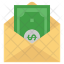 Dollar Cash Cash Envelope Icon