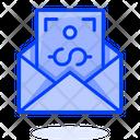 Salary Message Icon