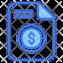Salary Slip Icon