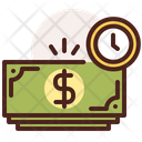 Salary Time Time Timer Icon