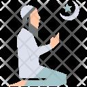Salat Muslim Pray Icon
