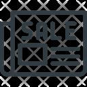 Sale Add Press Icon