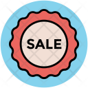 Sale Sign Label Icon