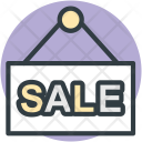 Sale Signboard Banner Icon