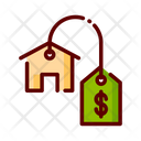 Sale Sale Property Property Price Icon