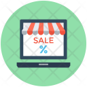 Sale Offer Online Icon