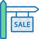 Sale Sold Sign Board Sign Board Icon