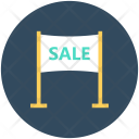Sale Billboard Advertisement Icon