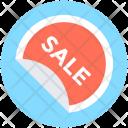 Sale Sticker Offer Icon