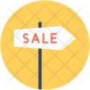Sale Signpost Guidepost Icon