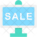 Sale Board Ad Icon