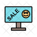 Sale Lcd Tag Ecommerce Icon