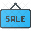 Sale Sign Hanger Icon