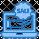 Laptop Ecommerce Shopping Icon