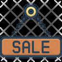 Sale Marketing Closeout Icon