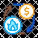 Sale Gas Supply Icon