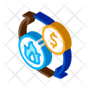 Sale Gas Supply Icon