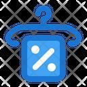 Sale Hanger Discount Icon
