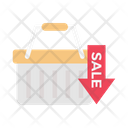 Sale Cart Trolley Icon