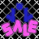 Sale Black Friday Icon