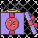 Sale Discount Box Icon