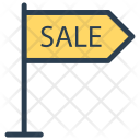 Sale Board Signboard Icon