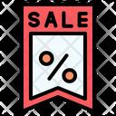 Black Friday Price Label Cyber Monday Icon