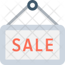 Sale Signboard Signage Icon
