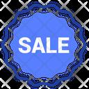 Sale Discount Label Icon