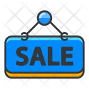 Sale Sign Hanging Icon